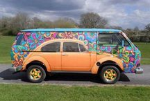 VW Bulli / Who does not love him - our VW Bulli.  This is about the oldie between the campervans and his beautiful variation