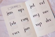 •bullet journal ideas