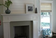 fireplace mantle / by Katie Anderson
