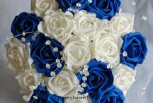 Royal blue weddings