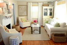 Living Room Re-do / by Heather Patel