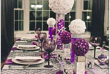 Party In Purple / Great ideas for beautiful purple party décor themes / by Barielle