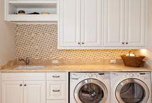 bathroom/laundry combo renovation