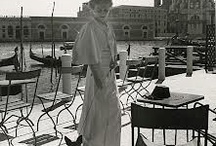 Peggy Guggenheim / My idol. The ultimate modernist, way ahead of her time, a great patron of the arts and a perfect liver of life.