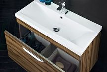 Bathroom Storage Ideas / Hudson Reed offers a range of quality bathroom storage options, with ceramic or gel coated resin basins and soft close, metal box drawers for a quality finish.  Perfect to store all those toiletries, towels and other bathroom clutter and give your bathroom a minimalist look.