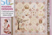 Stof Fabric projects on the magazine / Magazine - STOFF IDEEN 01/15 2015  /  Instructions and patterns