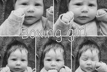 My little girl faces