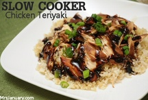 Recipes - slow cooker / by Katherine Langdon