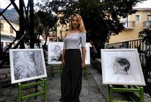 Ithaca outdoor art exhibition