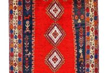 Red Rugs /  Red is considered to be an auspicious color and brightens up a space and look of a home decor. Decorating is an art and red is a color that looks great especially in a handmade carpet since the colors and tones are such that it spruces up a space.