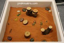 Sand/vattenbord