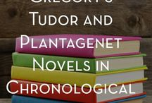 Books-Philippa Gregory / by Holly Douglas