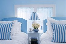 Cut Rite - Blue Hues / Lots of fun decorating ideas with lovely shades of blue!  www.CutRiteCarpets.com