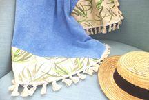 #aloha_beaches / New entry on beach towels. Handmade, unique designs by #aloha_beaches.