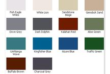 Paint and roof colour