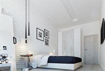 Biele tehličky/white brick wall