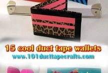 Duct tape crafts / by Rachel Welker Allen