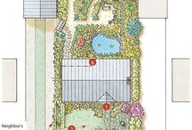 Gardens ~ landscape layouts