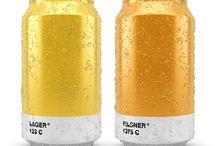Pantone beer Cans