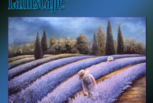 Simple Landscape Paintings for Beginner Artists / Learn to paint simple landscape paintings for the beginner artist painting with acrylics. #simplelandscapes,#paintinglessons,#beginnerartistpaintings