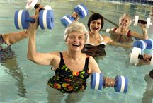 Let's Get Moving / Fitness and exercise are important keys to good health, regardless of age.