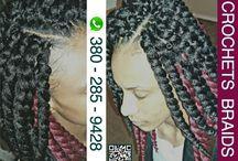 Crochets braids