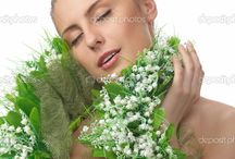 bouquet - scarf , muff , sash /     bouquet - scarf , muff , sash