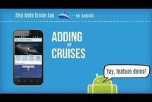 Android Feature Demos - Ship Mate Cruise App / You'll find video demos of some of the many features of the Ship Mate Cruise App. As we get new features, we'll add them here, so make sure to follow us.
