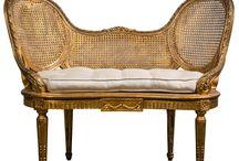 French chairs / antique french chairs, french chairs, bergeres, french country, french country decor, french decor, romantic decor, french country decorating, french home, home decor, cottage decor, french style, home decor, Swedish decor