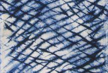 fabric manipulation dye+stitch / by crazyestonian
