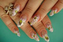 Wedding Nails / Best Wedding Nails Designs, Ideas and Pictures for Brides in 2016. These wedding nails and toes designs will blow your future husband away on your wedding. - http://beautifieddesigns.com/wedding-nails-design-ideas-pictures/