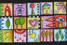 ATCs and Inchies / by Audrey Darnell