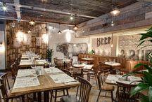 Restaurant design in the castle