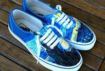 Zapatillas Van Gogh