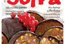 SOFRA dergisi Ocak 2015 sayısı çıktı / SOFRA dergisi Ocak 2015 sayısı çıktı...
