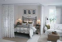 parents bedroom in livingroom