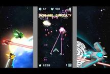 Deep Space invaders / Deep Space Invaders is a action game where you have to destroy a lots of invasive spacecraft to achieve the greatest possible number of points and achievements. Challenge your friends and learn who is the most skilled .