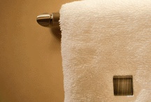 ToweLocs / Decorative towel fasteners that safely secures your towels in place during use.