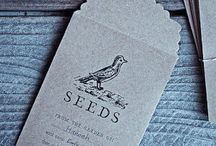 Seed packet ideas