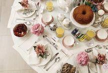 Para servir o chá! / Inspirações de mesas e cantinhos para servir um chá da tarde ou a qualquer momentos, em louças especiais e tudo o que este delicioso ritual merece! Também mostramos aqui algumas sugestões de acessórios de mesa!