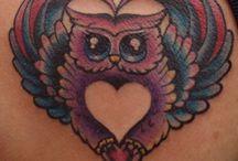 Owls tattoos