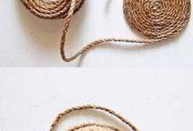 cestinha de corda