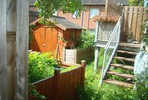 Garden   Before and after / The board name says it all!