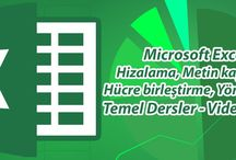 Office Excel Video Eğitim