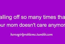 Equestrian Problems