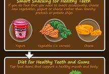 Food that Your Teeth Loves / Everything that you eat may not suit your #teeth. Here is a collection of foods that appeal to both – your teeth and your tongue!