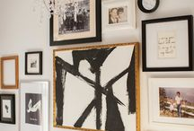 Gallery Wall  / Finally getting around to a gallery wall... / by Melanie McDaniel