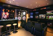 Aarons man cave ideas.