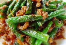 Fried Green bean