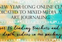 Wanderlust 2016 / Wanderlust is whole year long journey - an online event offering you videos from 24 guest teachers and 2 resident teachers one every week* (each one downloadable and with PDF instructions provided), 50 amazing videos, which will run for over 50 hours in total, access to a forum with an amazing and friendly community, inspirations, challenges, discussions, galleries, workshops, interviews, giveaways and generous discounts from our partners. The perfect alternative to in-person classes!